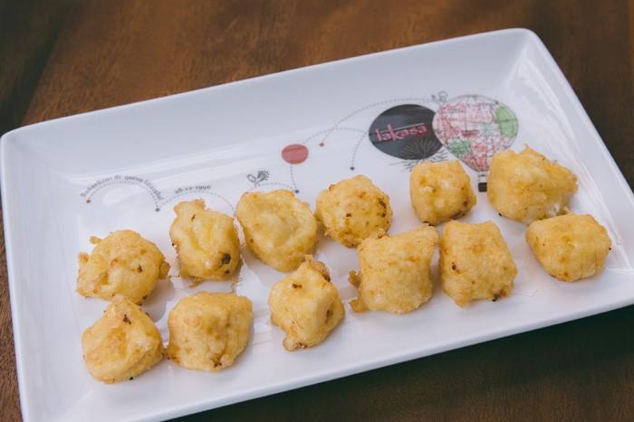 Idiazabal cheese fritters
