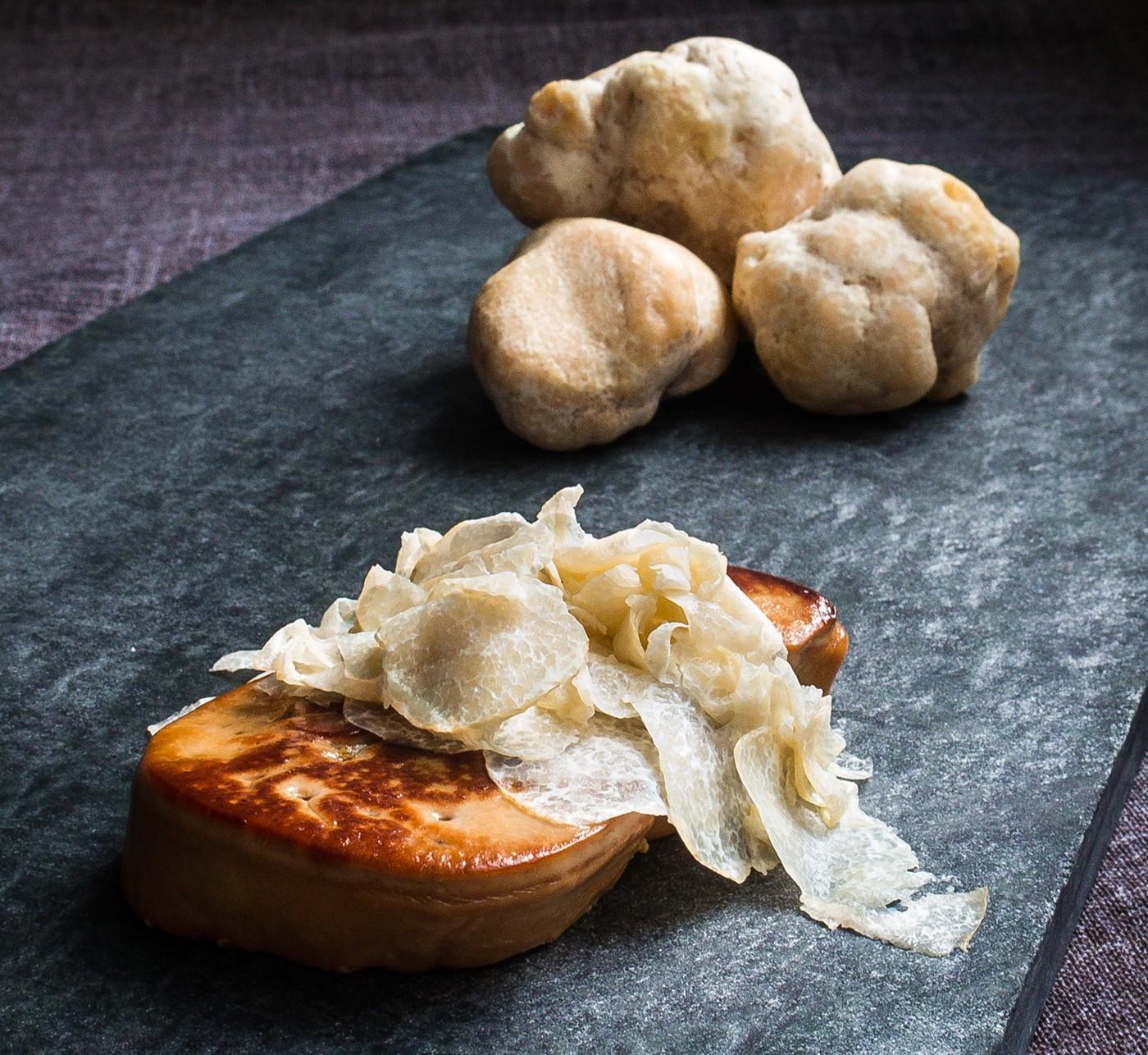 Foie fresco de pato a la plancha